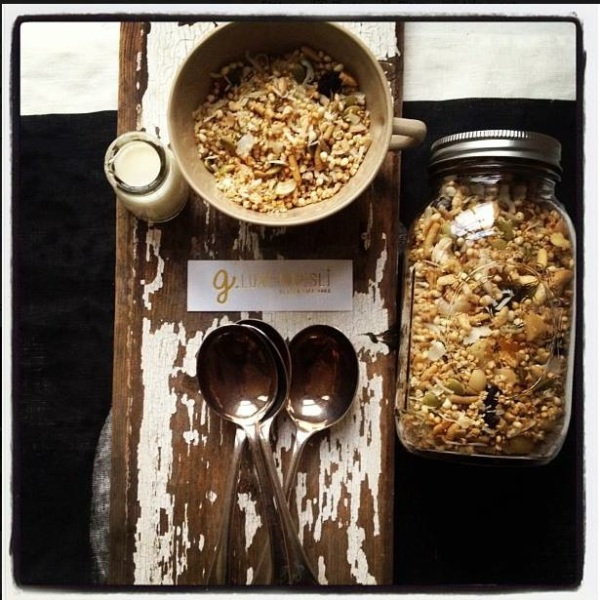 g.luxe | gluten free muesli