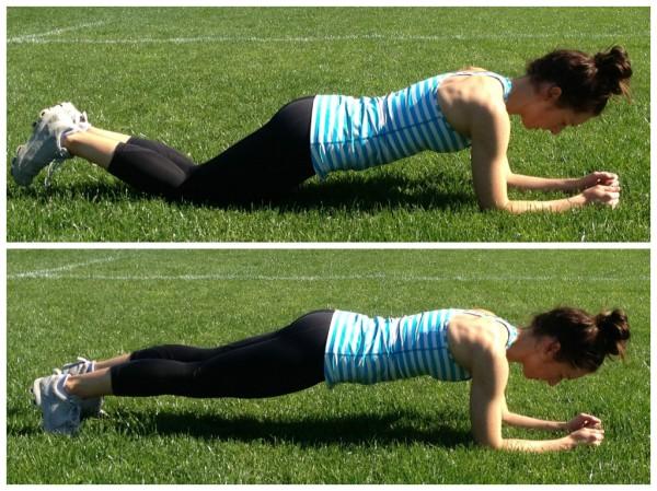 Knee plank | Plank