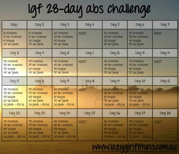 The Abs Challenge in its entirety