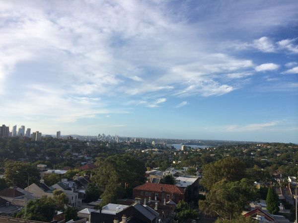 Not a terrible view from Fitness First Bondi Junction