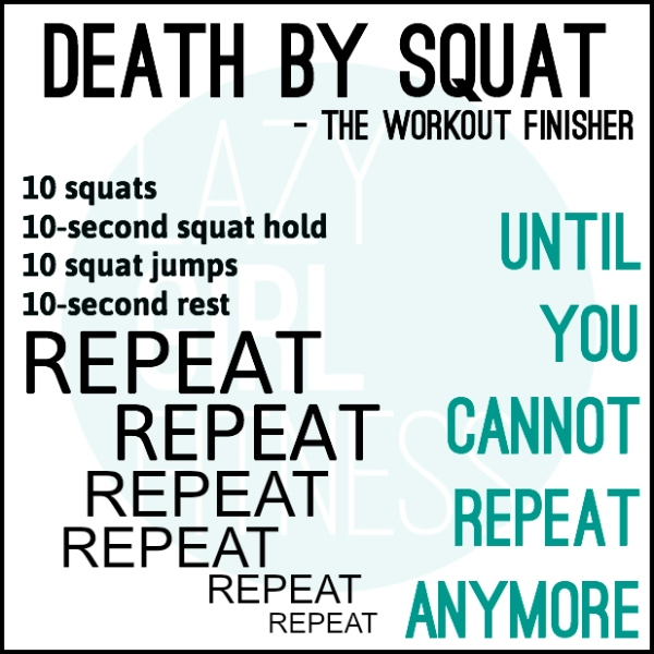 SQUAT FINISHER