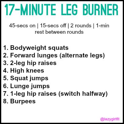 17-minute leg burner