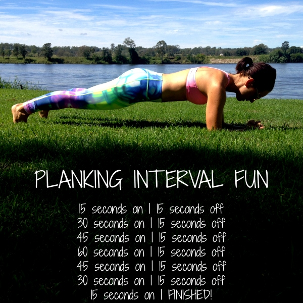 PLANKING INTERVAL BLOG